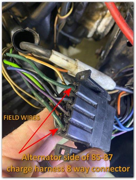 Charge-harness-alternator-side