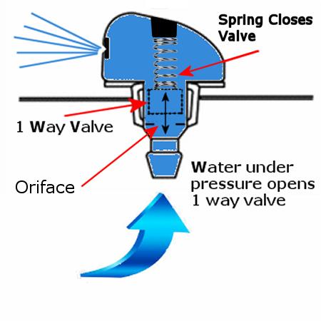windshield washer nozzle 1